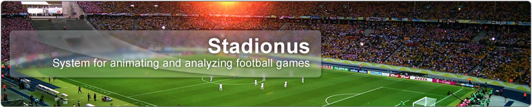 System for 3D animating and analyzing football games